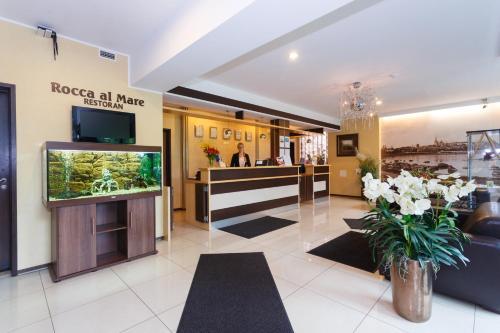 Lobby/Rezeption in der Unterkunft Hotel Rocca al Mare