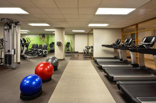 The fitness center and/or fitness facilities at The Westin Cincinnati