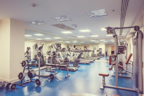 The fitness center and/or fitness facilities at Fairmont Grand Hotel Kyiv