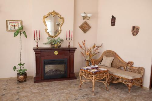Гостиная зона в Варваци Бутик Отель