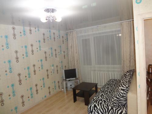Гостиная зона в Apartment On Lenina 39
