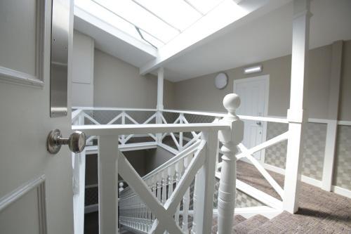 A balcony or terrace at Ambassador Hotel