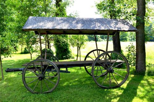 Ein Patio oder anderer Außenbereich in der Unterkunft Kur und Wellnesshaus Spreebalance, The Originals Relais (Relais du Silence)