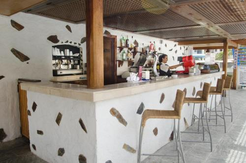 De lounge of bar bij Catalonia Las Vegas