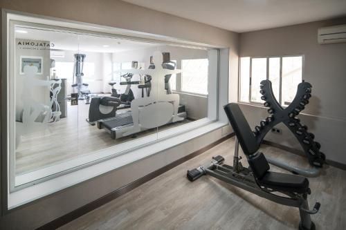 Het fitnesscentrum en/of fitnessfaciliteiten van Catalonia Las Vegas