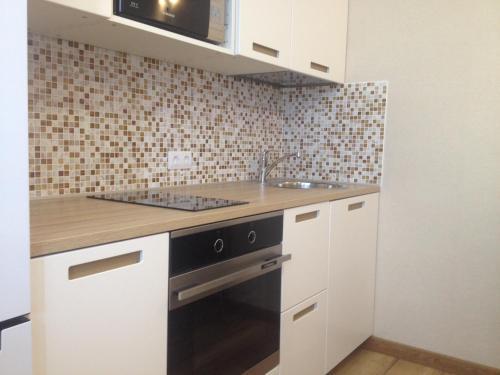 Кухня или мини-кухня в Апартаменты на Московском проспекте 183