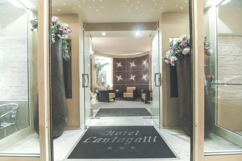 The lobby or reception area at Il Cantagalli