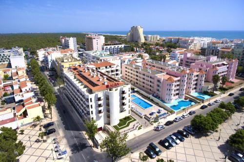 Hotel Alba a vista de pájaro