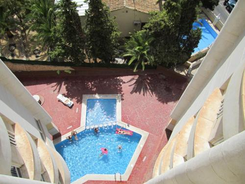 The swimming pool at or near Apartment Montecarlo on Levante beach