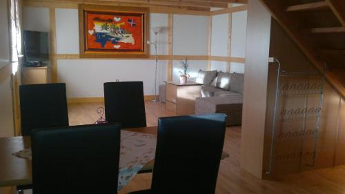 Lounge oder Bar in der Unterkunft Haus Hammermühle
