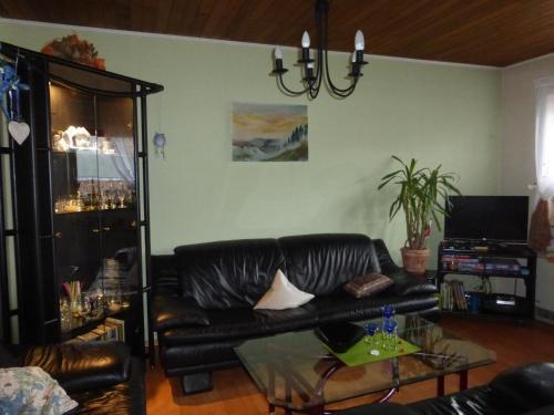 Lounge oder Bar in der Unterkunft Ferienwohnung Bruni