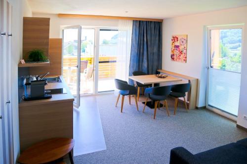 Küche/Küchenzeile in der Unterkunft Pension Reiter-Moravec