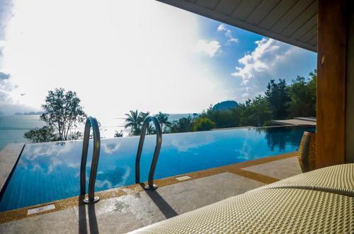 The swimming pool at or near Koh Yao Yai Hillside Resort