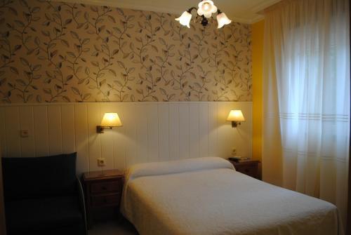 A room at Hostal Santa Marta Playa