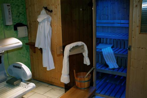 Ein Badezimmer in der Unterkunft Hotel-Restaurant Gerold