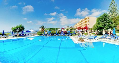 The swimming pool at or near Corfu Palace Hotel