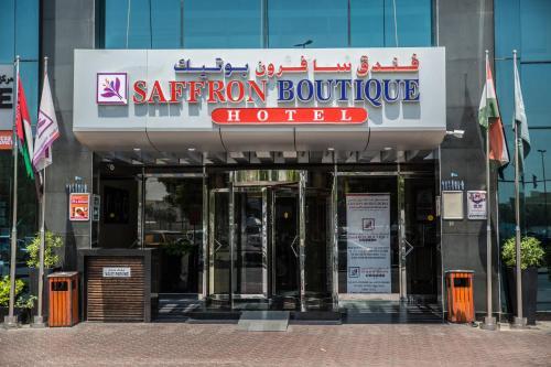 The facade or entrance of Saffron Boutique Hotel