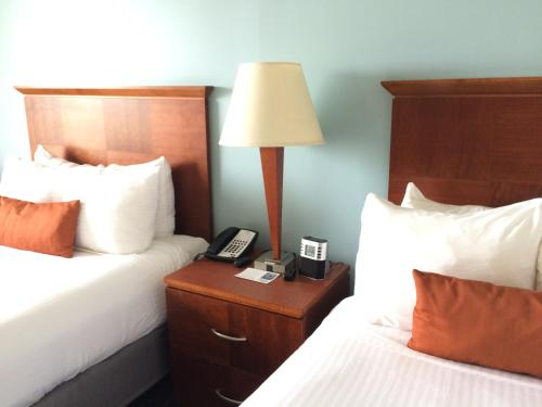 A room at Hotel Tybee