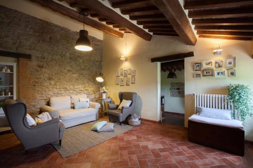 Hall o reception di Allegro Agriturismo Argiano