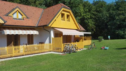 Патио или другая зона на открытом воздухе в Soncnica Apartment