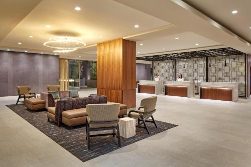 The lobby or reception area at Homewood Suites by Hilton San Diego Downtown/Bayside