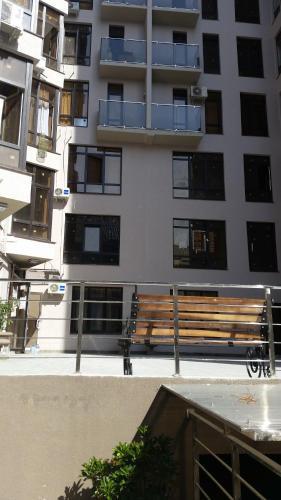 Балкон или терраса в Apartments na Prosvesheniya 147/1