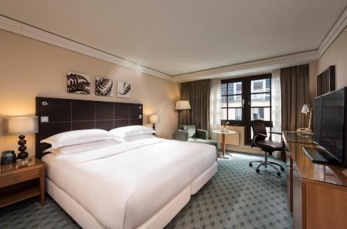 A room at Hilton Dresden