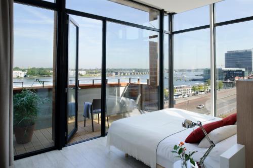 Ein Balkon oder eine Terrasse in der Unterkunft Eric Vökel Boutique Apartments - Amsterdam Suites