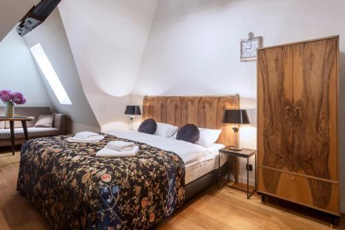 A room at Antique Apartments Plac Szczepański