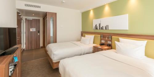 A room at Hampton by Hilton Nürnberg City Center