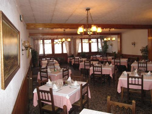 A restaurant or other place to eat at Fonda Agustí
