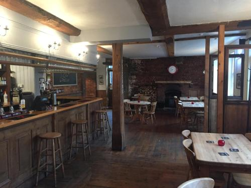 The lounge or bar area at The Red Lion