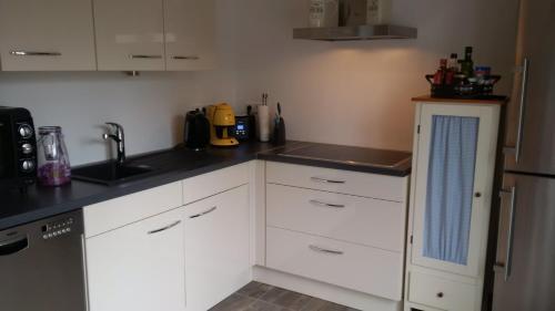 A kitchen or kitchenette at Meisennest