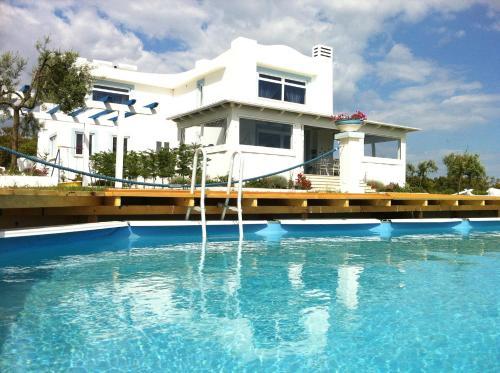 The swimming pool at or near Casamediterranea