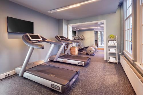 The fitness center and/or fitness facilities at Pulitzer Amsterdam