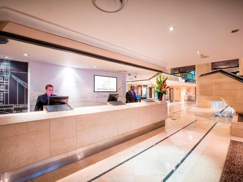 The lobby or reception area at The Tower Hotel