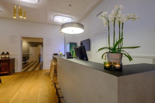 Lobbyen eller receptionen på Zleep Hotel Prindsen Roskilde