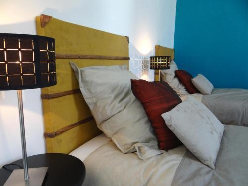 A seating area at Les Viviers Maison d'hôtes B&B