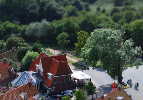 De omliggende buurt of een buurt vlak bij het pension