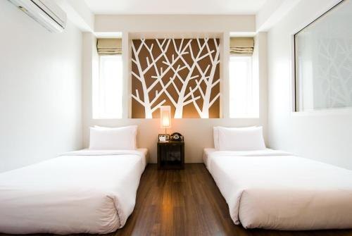 Een kamer bij The Album Hotel