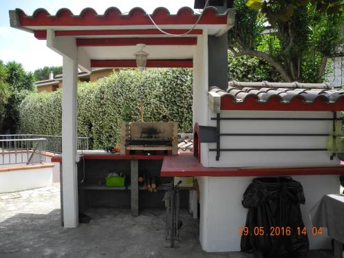 A porch or other outdoor area at Green House
