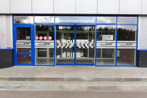 Фасад или вход в Атрон-Отель