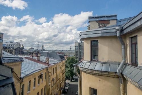 Балкон или терраса в Residence Turgenev