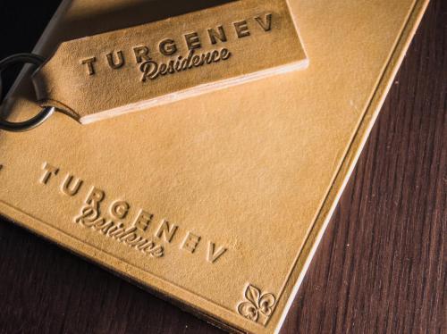 Сертификат, награда, вывеска или другой документ, выставленный в Residence Turgenev