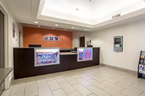 The lobby or reception area at Motel 6-Page, AZ