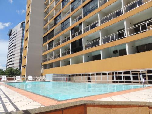 The swimming pool at or close to Brasilia Apart Hotéis