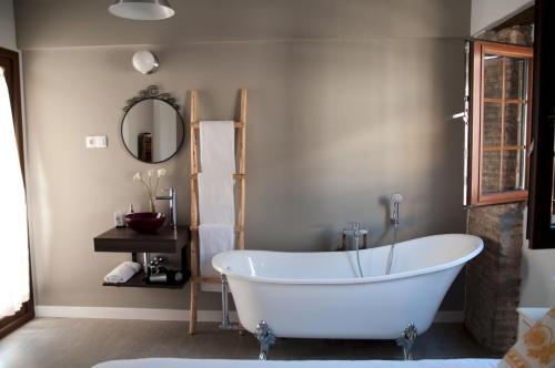 A bathroom at Patio de Arance