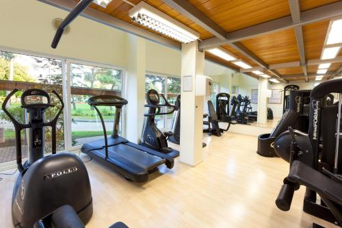 The fitness center and/or fitness facilities at Hotel Sol Umag for Plava Laguna