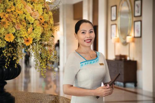 Staff members at Shangri-La Mactan, Cebu - Multiple Use Hotel