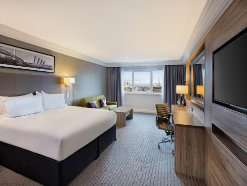 A room at DoubleTree by Hilton Glasgow Central